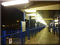 SO8318 : Gloucester bus station at night by Ian S