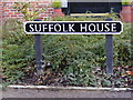 TM3569 : Suffolk House sign by Adrian Cable