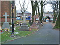 SJ9399 : Christ Church, Ashton-Under-Lyne, Graveyard by Alexander P Kapp