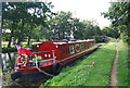TQ0154 : Narrowboat, Wey Navigation by N Chadwick
