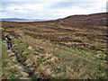 NG1850 : Old track across the moor by Richard Dorrell