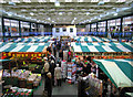 SJ4912 : Inside the Market Hall by Dave Croker