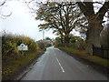 SJ4750 : Entering Tilston by Ian S
