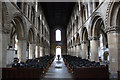 SK5978 : Worksop Priory nave by Richard Croft