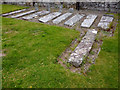 SN7465 : Medieval grave markers at Strata Florida abbey by Phil Champion