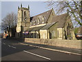 SJ9272 : St Peter's church, Windmill Street, Macclesfield by Peter Turner
