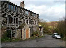 SE0023 : Houses at Sunny Bank, Cragg Vale by Humphrey Bolton