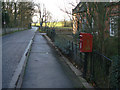 SK5721 : Prestwold Lane postbox ref. LE12 33 by Alan Murray-Rust