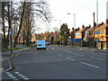 SJ9488 : A626 (Stockport Road), Rose Hill by David Dixon