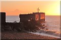 TQ8209 : Harbour Arm at sunrise by Oast House Archive