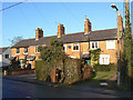 SK5821 : Cottages on Loughborough Road by Alan Murray-Rust