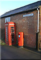SK5821 : Seymour Road/Burton on The Wolds postbox (ref. LE12 84) by Alan Murray-Rust