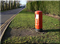 SK5922 : Wymeswold Industrial Estate/Burton on The Wolds postbox (ref. LE12 150) by Alan Murray-Rust