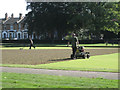 SP3165 : Slitting 'E' green, Victoria Park by Robin Stott