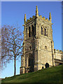 SK6023 : Wymeswold church tower by Alan Murray-Rust