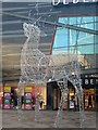 SE3321 : Trinity Walk, Christmas decorations (2) by Mike Kirby