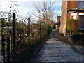 SJ8293 : Footpath between Nell Lane and Barlow Moor Road, Chorlton by Phil Champion