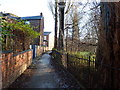 SJ8293 : Footpath towards Nell Lane, Chorlton-cum-Hardy by Phil Champion