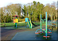 SO9095 : Playground in Muchall Park, Wolverhampton by Roger  Kidd