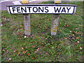 TM2245 : Fentons Way sign by Adrian Cable