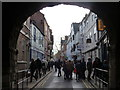 SE6052 : York: High Petergate from Bootham Bar by Chris Downer