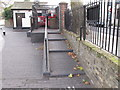TQ2681 : Paddington Arm - stepped ramp access to Delamere Terrace by David Hawgood