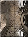 TR1557 : Ceiling of Canterbury Cathedral by Oast House Archive