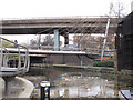 TQ2681 : Paddington Arm - Harrow Road footbridge by David Hawgood