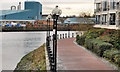 J3473 : The Lagan Walkway, Belfast (6) by Albert Bridge