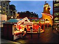 SJ8498 : Christmas Funfair, Piccadilly Gardens by David Dixon