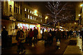 SJ8398 : St Ann's Square, Christmas Market by David Dixon
