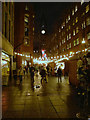 SJ8398 : Brazennose Street, Christmas Market by David Dixon