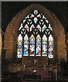 SJ8990 : East Window by Gerald England