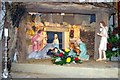 TL4458 : Nativity in Little St Mary's Church by James Yardley