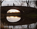 SD4746 : Dusk at Nateby Hall Bridge, Lancaster Canal by Karl and Ali