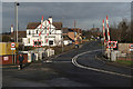 SE5522 : Whitley Bridge level crossing by Alan Murray-Rust