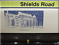 NS5764 : Shields Road subway station by Thomas Nugent