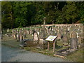 SO4593 : Cunnery Road Cemetery, Church Stretton by Eirian Evans