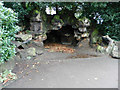 SJ3787 : Sefton Park Grotto by Paul Brooker