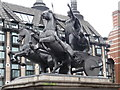 TQ3079 : London: Boadicea statue by Chris Downer