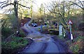 SO7772 : The Gladder Brook ford on Heightington Road, near Ribbesford by P L Chadwick