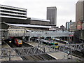 SP0686 : Birmingham New Street Station Redevelopment - Footbridge Now Replaced by Roy Hughes