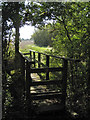 SP1764 : Footbridge over a ditch near the Stratford Canal by Robin Stott