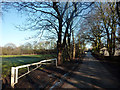 SJ8092 : Football pitch near Jackson's Boat, Sale by Phil Champion
