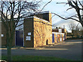 SE5623 : Eggborough telephone exchange by Alan Murray-Rust