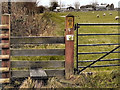 SD7708 : Stile on the Path to Moss Shaw Farm by David Dixon