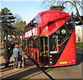 TQ1780 : Open platform of &quot;New bus for London&quot; by David Hawgood