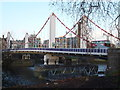 TQ2877 : Chelsea Bridge from Battersea Park by R Sones