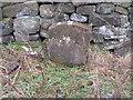 SD9738 : Boundary stone near Watersheddles by John Slater