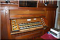 TQ7038 : Organ Console, St Margaret's church, Horsmonden by Julian P Guffogg